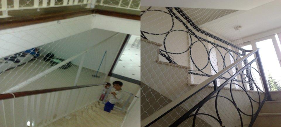 Redes de Proteção para Escadas, Piscinas, Janelas e Sacadas de Apartamentos